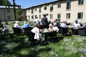 Midsommarfirande Svalnäs seniorboende