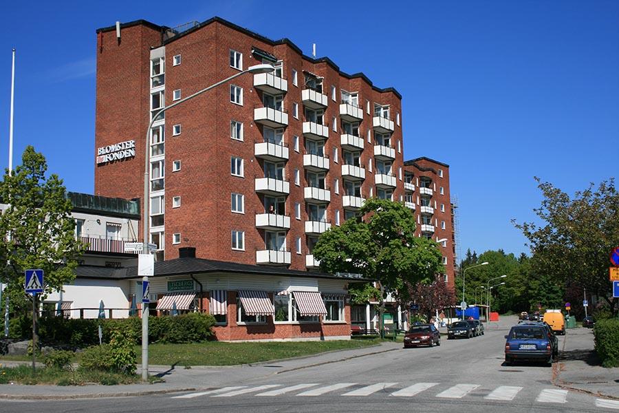 Fasad Lisebergs äldreboende
