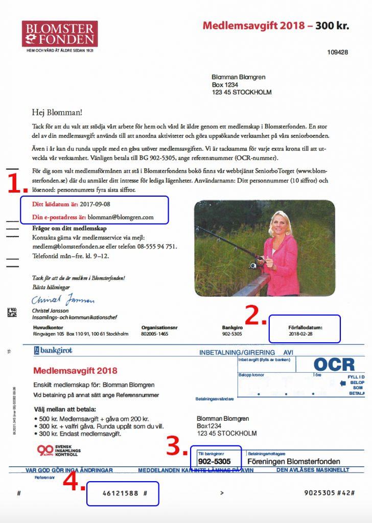 Viktig info på medlemsavin