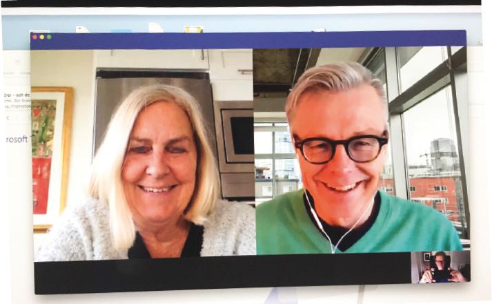 Ewa Samuelsson och Ulf Thörnevik